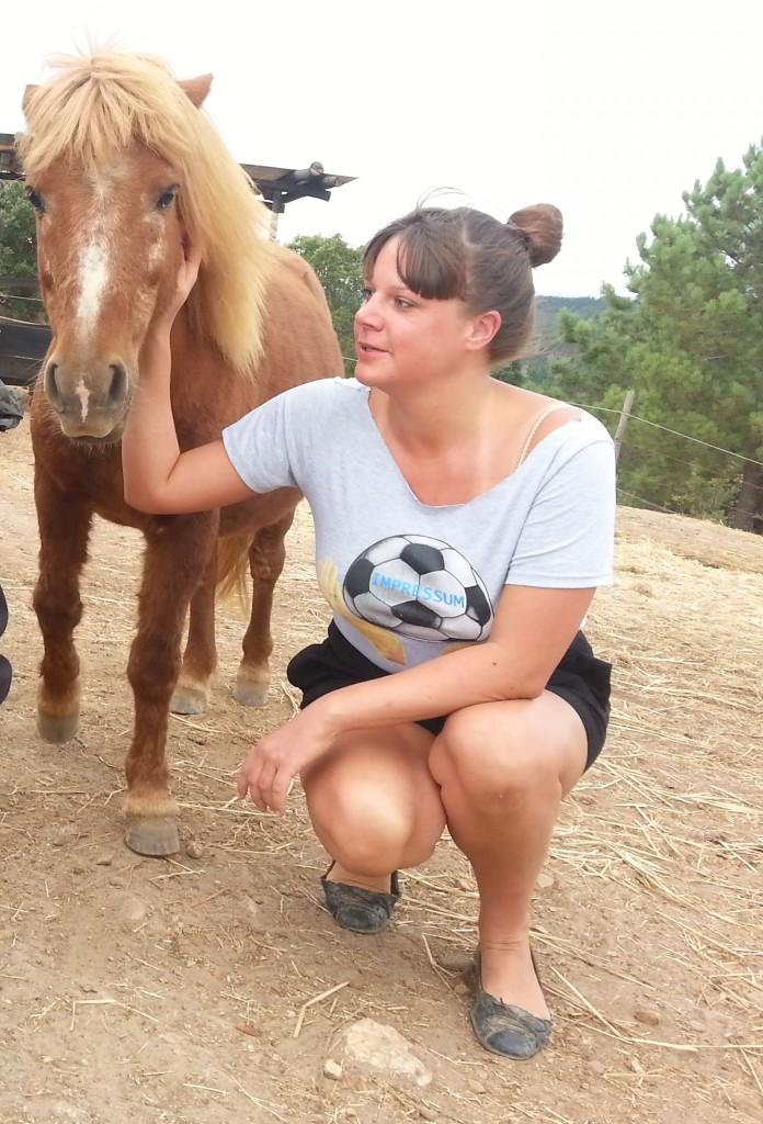 Alisa mit Pony