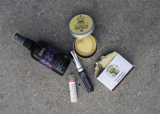 vegan beauty basket
