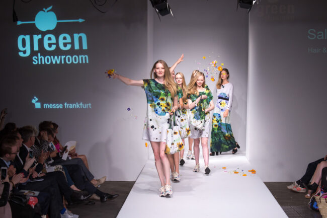Salon show Green showroomspring summer 2017 Messe Frankfurt
